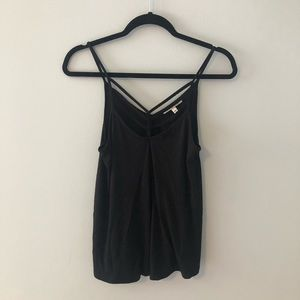 Express Cage necked tank top